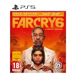 Far Cry 6 Gold Edition PS5 Game cover