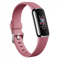 Fitbit activity tracker luxe Pink silver Screen buy from xcite Kuwait
