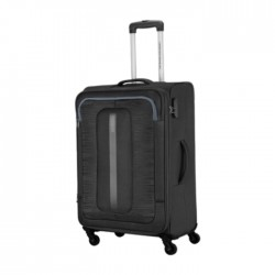 American Tourister 55CM Black Bribane Spinner Soft Luggage in Kuwait | Buy Online – Xcite