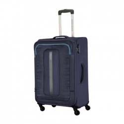 American Tourister 55CM Navy Brisbane Spinner Soft Luggage in Kuwait | Buy Online – Xcite