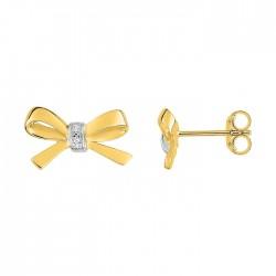 Fontenay Ladies Earrings - Brass - Gold Plated  (DSW358Z) in Kuwait | Xcite Alghanim