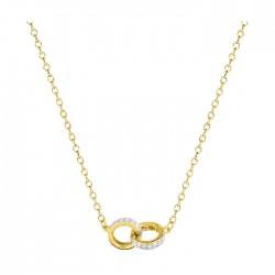 Fontenay Ladies Necklace - Brass - Gold Plated  (DSC372Z45E) in Kuwait | Xcite Alghanim