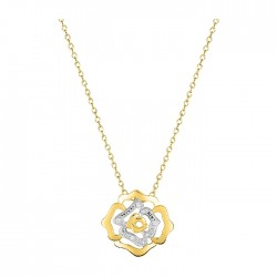 Fontenay Ladies Necklace - Brass - Gold Plated  (DSC370Z45E) in Kuwait | Xcite Alghanim