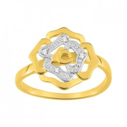 Fontenay Ladies Ring - Brass - Gold Plated 54 (DSR370Z-54) in Kuwait   Xcite Alghanim