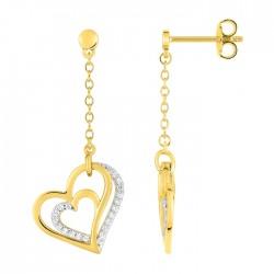 Fontenay Ladies Earrings - Brass - Gold Plated  (DSW371Z) in Kuwait | Xcite Alghanim