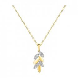 Fontenay Ladies Necklace - Brass - Gold Plated  (DSC357Z40E) in Kuwait | Xcite Alghanim