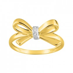 Fontenay Ladies Ring - Brass - Gold Plated  (DSR358Z-54) in Kuwait   Xcite Alghanim