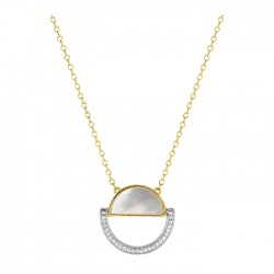 Fontenay Ladies Necklace - Brass - Gold Plated  (DSC369PZ45E) in Kuwait | Xcite Alghanim