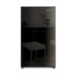 ثلاجة باب واحد دايو ٤ قدم – زجاج أسود (FR-15B)