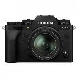 FUJIFILM X-T4 Mirrorless Digital Camera with 18-55mm Lens Black 26.1MP APS-C X-CMOS 4 Sensor