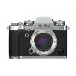 كاميرا فوجي فيلم X-T3 الرقمية والقابلة لتغيير العدسات - الهيكل فقط - فضي