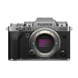 كاميرا فوجي فيلم الرقمية إكس – تي4 بدون مرآه (هيكل فقط) – فضي