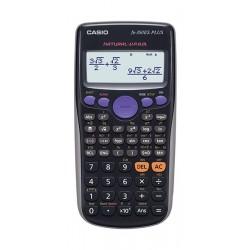 حاسبة علمية مع ٢٥٢ دالة من كاسيو - أسود (FX-82ES)