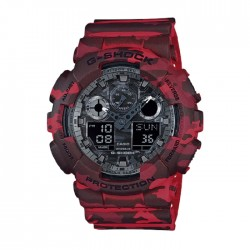 Casio G-Shock 55mm Men's Digital Watch (GA-1000-4BDR) in Kuwait | Buy Online – Xcite