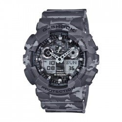Casio G-Shock 55mm Men's Digital Watch (GA-100CM-8ADR) in Kuwait | Buy Online – Xcite