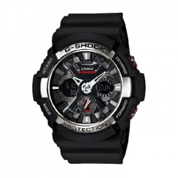 Casio G-Shock 55mm Men's Digital Watch GA-200-1ADR in Kuwait | Buy Online – Xcite