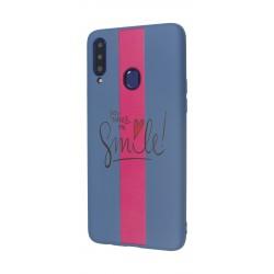 EQ Samsung Galaxy A20S Candy Silicone Print Back Case - G