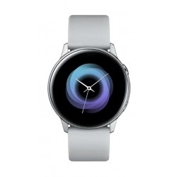 Galaxy Watch Active Smart Watch (SM-R500NZSAXSG) - Silver