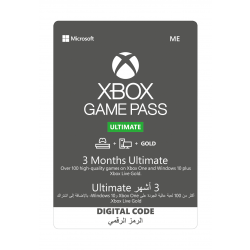 Microsoft Xbox Game Pass Ultimate - (3 Month)