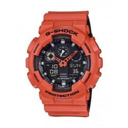 ساعة كاسيو جي-شوك البرتقالية الرياضية (GBA-800-4ADR)