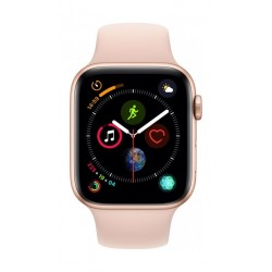 Apple Watch Series 4 44mm, Gold Aluminium Case, Pink Sand Sport Band