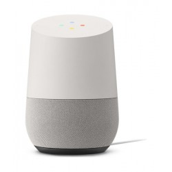 Google Home Assitant Speaker – White front view