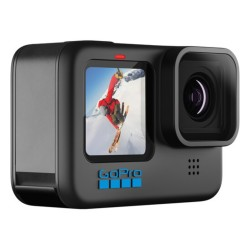 GoPro Hero10 Action sports live streaming Black front side view