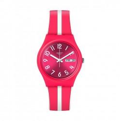 ساعة سواتش سانجينيلو كوارتز للجنسين بعرض تناظري و حزام مطاطي - ٣٤ ملم - (GR709)