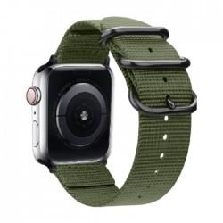 سوار ساعة أبل إي كيو مقاس 38/40 مم (OCT 1031) - أخضر جيشي