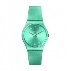 ساعة سواتش سو بلو كوارتز للجنسين بعرض تناظري و حزام مطاطي - ٣٤ ملم - (GS160)