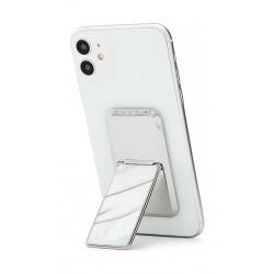 HANDLstick Marble Smartphone Holder - Silver/Marble