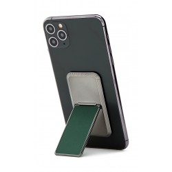 HANDLstick Solid Electroplated Smartphone Holder - Midnight Green