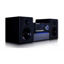 نظام مكبر صوت ميني بتقنية البلوتوث ويدعم السي دي/ الدي في دي / يو إس بي من وانسا - أسود – ((HF-092