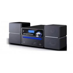 نظام مكبر صوت ميكرو من ونسا - يعمل بالبلوتوث - سي دي/دي في دي/ يو إس بي – أسود (HF-091)