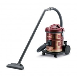 Hitachi CV-940Y 1600W 15L Drum Vacuum Cleaner - Red