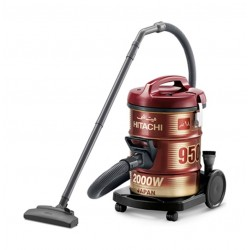 Hitachi CV-950Y 2000W 18L Drum Vacuum Cleaner - Red