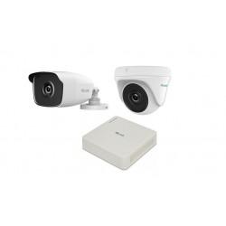 كاميرا المراقبة ٤ قنوات هاي لوك ٢ ميجابكسل (HLNH-204)  - أبيض