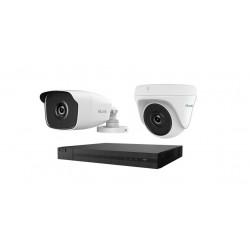 كاميرا المراقبة ٨ قنوات هاي لوك ٤ ميجابكسل (HLNH-408)  - أبيض