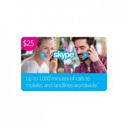 Skype Card $25