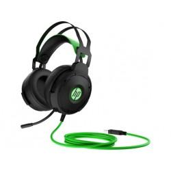 سماعة الألعاب السلكية إتش بي بافيليون ٦٠٠ - أسود / أخضر