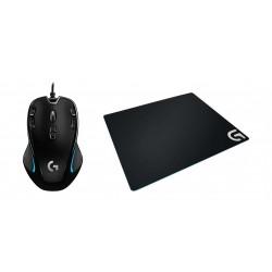 Logitech Gear Up Bundle G300s Gaming Mouse + G240 Mousepad