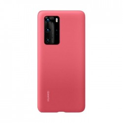 Huawei P40 Pro Silicone Back Case (51993805) - Red
