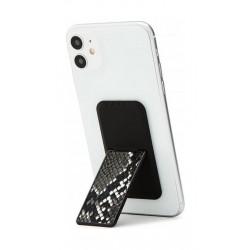 HANDLstick Smartphone Holder Animal Skin - Black/White Snake