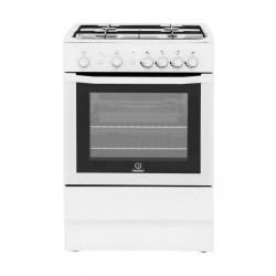 طباخ الغاز القائم من إنديست ٦٠×٦٠ سم - ٤ عيون (I6GG1) - أبيض