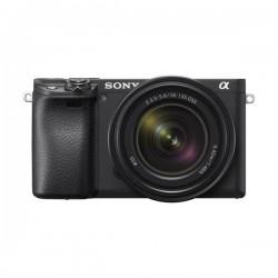 كاميرا سوني A6400 بدقة 24.2 ميجابكسل وعدسة قابلة للتبديل 18 - 135 ملم