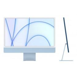 ديسك توب الكل في واحد آي ماك معالج ام1 رام 8 جيجابايت، 512 اس اس دي، 24 بوصة شاشة ريتينا 4.5كي ومستشعر Touch ID من آبل (2021) – أزرق