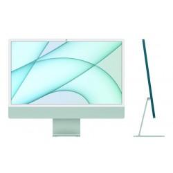 ديسك توب الكل في واحد آي ماك معالج ام1 رام 8 جيجابايت، 512 اس اس دي، 24 بوصة شاشة ريتينا 4.5كي ومستشعر Touch ID من آبل (2021) – أخضر