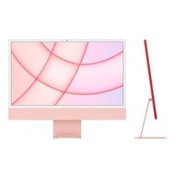 ديسك توب الكل في واحد آي ماك معالج ام1 رام 8 جيجابايت، 512 اس اس دي، 24 بوصة شاشة ريتينا 4.5كي ومستشعر Touch ID من آبل (2021) – وردي