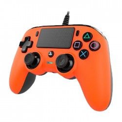 Bigben Nacon PS4 Wired Compact Controller - Orange