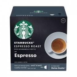كبسولات قهوة ستاربكس إسبريسو تحميص أشقر من دولتشي جوستو - 12 كبسولة
